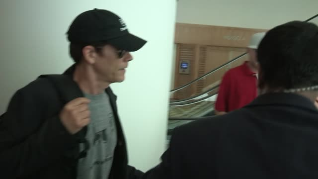 Kevin Bacon arrives at Comic Con 2012 in San Diego 07/13/12