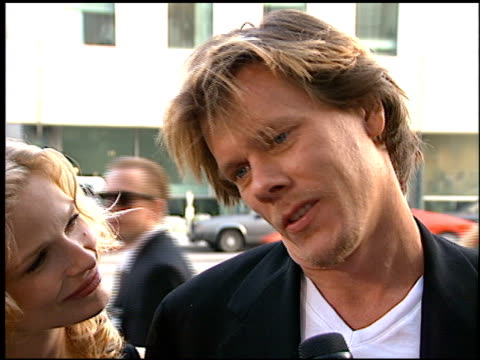 Kevin Bacon at the 'Apollo 13' Premiere at Academy Theater in Beverly Hills California on June 22 1995