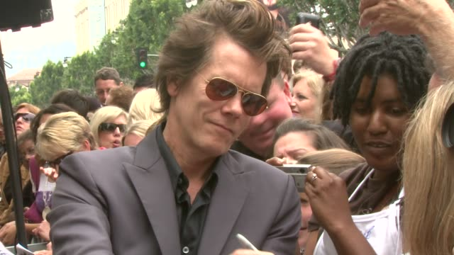 Kevin Bacon at the Kyra Sedgwick Honored With Star On The Hollywood Walk Of Fame at Hollywood CA