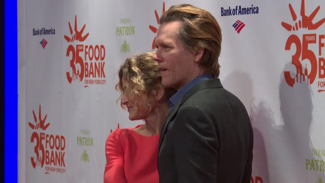 Kevin Bacon Kyra Sedgwick at 2018 Food Bank For New York City's Can Do Awards Dinner at Cipriani Wall Street on April 17 2018 in New York City