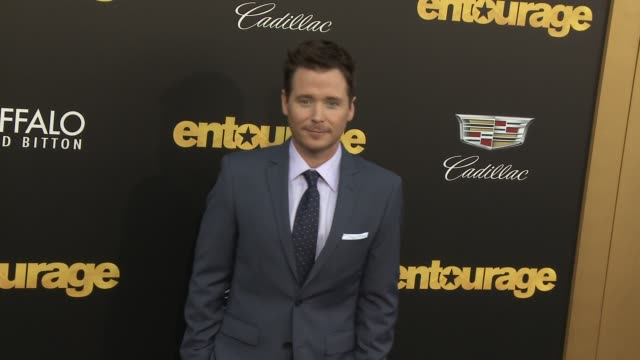 """kevin connolly at """"entourage"""" los angeles premiere at regency village theatre on june 01, 2015 in westwood, california. - regency village theater stock videos & royalty-free footage"""