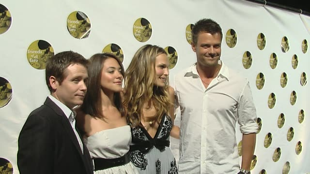 kevin connolly camille guaty molly sims and josh duhamel at the 5th annual friends of el faro event at los angeles ca - molly sims stock videos & royalty-free footage