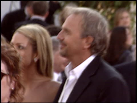 kevin costner at the 2004 golden globe awards at the beverly hilton in beverly hills california on january 25 2004 - kevin costner stock videos & royalty-free footage