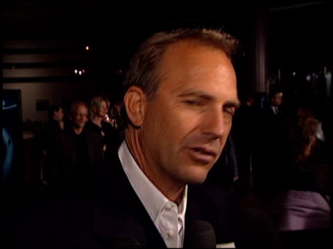 kevin costner at the dragonfly at dga in hollywood california on february 18 2002 - kevin costner stock videos & royalty-free footage