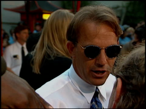 Kevin Costner at the 'Waterworld' Premiere at Grauman's Chinese Theatre in Hollywood California on July 26 1995