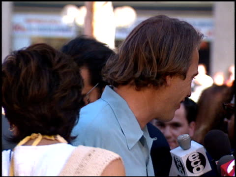 kevin costner at the 'wyatt earp' premiere at grauman's chinese theatre in hollywood california on june 18 1994 - kevin costner stock videos & royalty-free footage