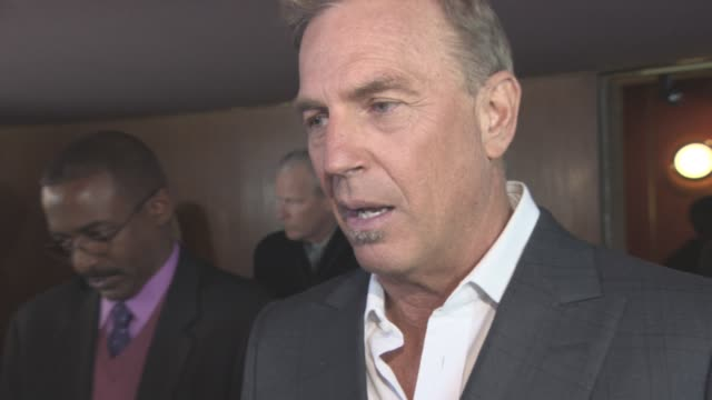 stockvideo's en b-roll-footage met interview kevin costner on the concept of the film his character shooting in croydon at 'criminal' uk premiere on april 07 2016 in london england - kevin costner