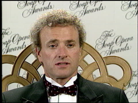kevin dobson at the seventh annual soap opera awards at the biltmore hotel in los angeles, california on january 13, 1991. - soap opera stock videos & royalty-free footage