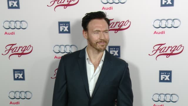 kevin durand at fx's fargo los angeles premiere at arclight cinemas on october 07 2015 in hollywood california - arclight cinemas hollywood stock videos & royalty-free footage