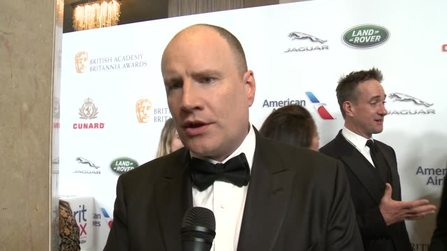 INTERVIEW Kevin Feige on what does it mean to be selected as an honoree at 2018 British Academy Britannia Awards in Los Angeles CA