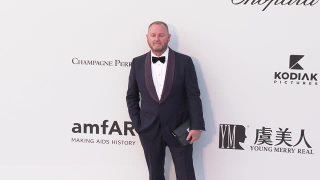Kevin Frost at the amfAR Cannes Gala 2019 Arrivals at Hotel du CapEdenRoc on May 23 2019 in Cap d'Antibes France