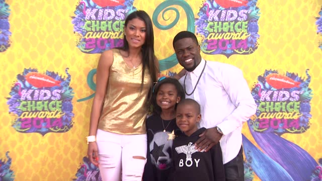 kevin hart at nickelodeon's 27th annual kids' choice awards at usc galen center on march 29, 2014 in los angeles, california. - nickelodeon stock videos & royalty-free footage