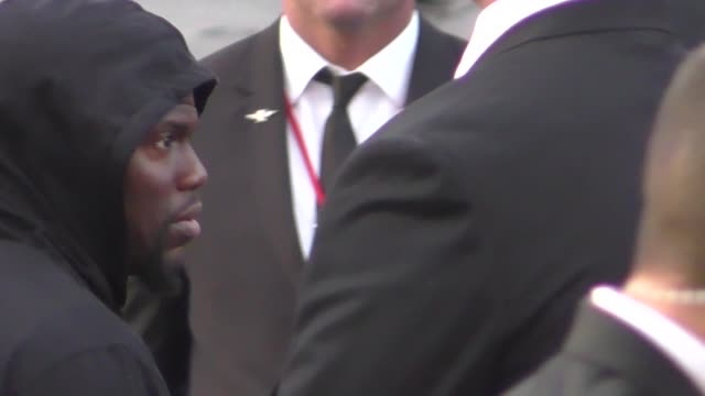 Kevin Hart attends the Avengers Infinity War premiere in Hollywood in Celebrity Sightings in Los Angeles