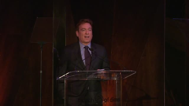 speech kevin huvane at march of dimes celebration of babies luncheon honoring jennifer lopez in los angeles ca on 12/06/13 - kevin huvane stock videos & royalty-free footage