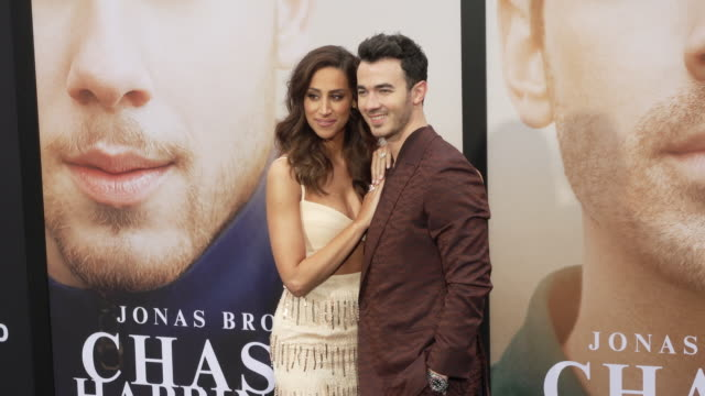 kevin jonas and danielle jonas at the jonas brothers' chasing happiness world premiere at regency bruin theatre on june 03 2019 in los angeles... - bruin theater stock videos & royalty-free footage