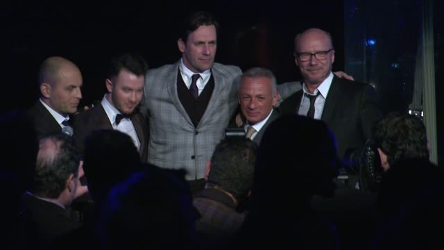 kevin jonas jon hamm pascal raffy paul haggis at 7th annual hollywood domino bovet 1822 gala benefitting artists for peace and justice in los angeles... - paul haggis stock videos and b-roll footage
