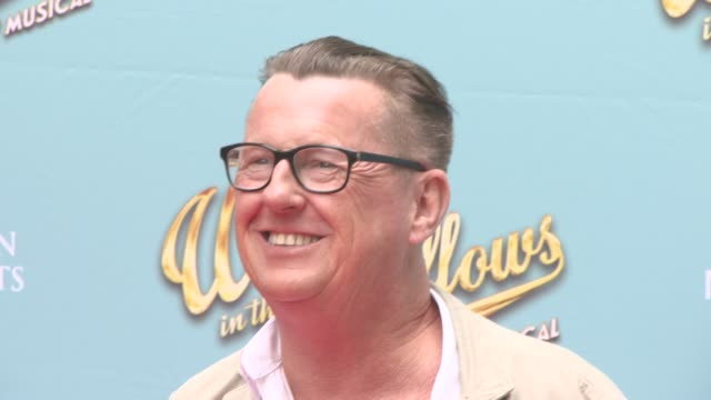 stockvideo's en b-roll-footage met kevin kennedy at the wind in the willows press night / vip gala at london palladium on june 29 2017 in london england - london palladium