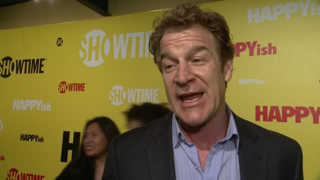 INTERVIEW Kevin Kilner talks about what makes HAPPYish so unique at The SHOWTIME Premiere Of The Original Comedy Series HAPPYish at Sunshine Cinema...
