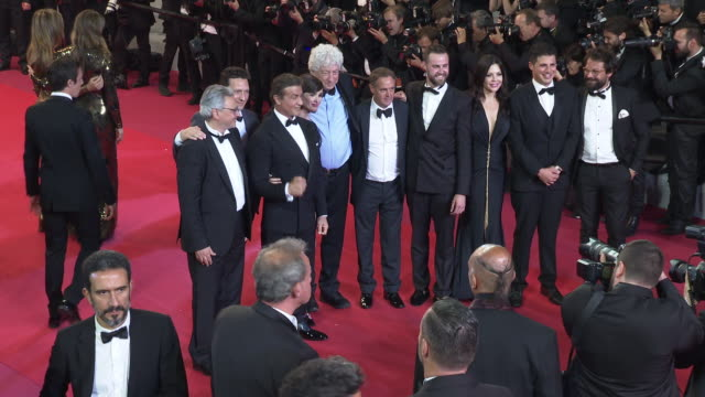 Kevin King Christa Campbell Avi Lerner Victor Hadida Sylvester Stallone Paz Vega Jeff Greenstein and Jonathan Yunger at the Homage to Sylvester...