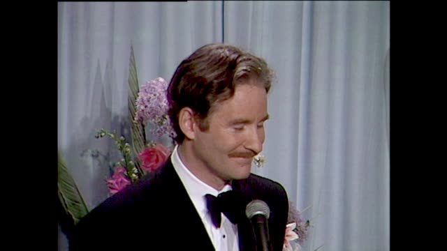 kevin kline talks about a fish called wanda and winning the best supporting actor academy award - kevin kline actor stock videos & royalty-free footage