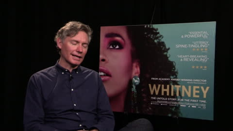 kevin macdonald on working with bobby brown, trying to get him to talk at 'whitney' interviews on june 19, 2018 in london, england. - whitney houston stock-videos und b-roll-filmmaterial