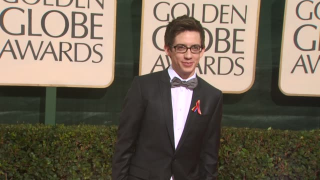 kevin mchale at the 67th annual golden globe awards arrivals part 3 at beverly hills ca - ゴールデングローブ賞点の映像素材/bロール
