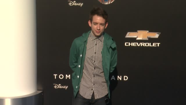 kevin mchale at the tomorrowland los angeles premiere at amc downtown disney 12 theater on may 09 2015 in anaheim california - anaheim california stock videos and b-roll footage