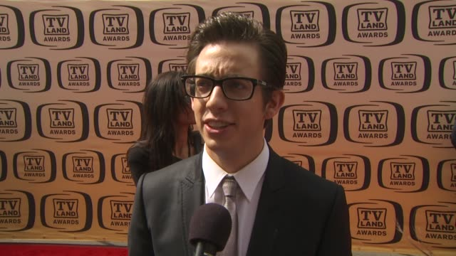 kevin mchale on 'glee' receiving the future classic award on what's coming up with the show on what he's looking forward to tonight and on his... - glee tv show stock videos and b-roll footage