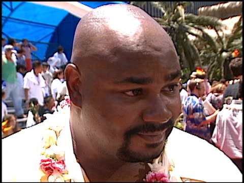 kevin michael richardson at the 'lilo and stitch' premiere at the el capitan theatre in hollywood, california on june 16, 2002. - el capitan theatre stock videos & royalty-free footage