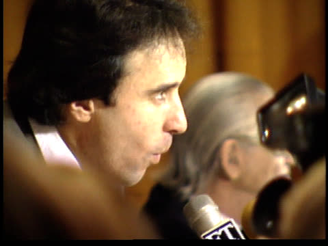 kevin nealon talks to reporters - friars roast 1993 stock videos and b-roll footage