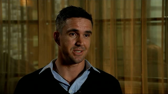 kevin pietersen launches autobiography; england: manchester: int kevin pietersen interview sot - for me it was just a case of saying these are the... - biographie stock-videos und b-roll-filmmaterial