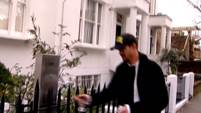 kevin pietersen refuses to comment after england omission england london ext kevin pietersen along street pietersen entering house various of... - intercom stock videos and b-roll footage