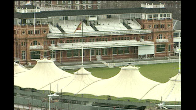 kevin pietersen resigns as england captain and peter moores sacked as england coach pietersen london lords various of lords cricket ground reporter... - lords cricket ground stock videos and b-roll footage