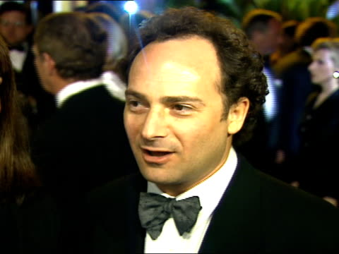 kevin pollak talks to reporters during the vanity fair oscar party. - oscar party stock videos & royalty-free footage