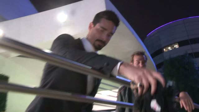 kevin richardson at the backstreet boys: show em what you're made of premiere in hollywood in celebrity sightings in los angeles, - backstreet boys stock videos & royalty-free footage