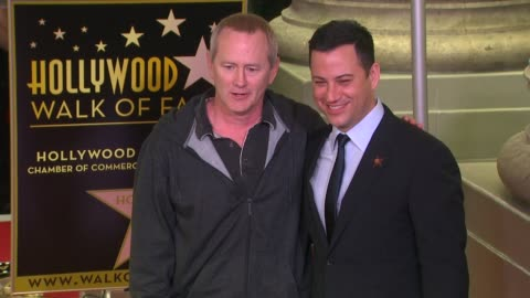 stockvideo's en b-roll-footage met kevin ryder and jimmy kimmel at jimmy kimmel honored with star on the hollywood walk of fame in hollywood, ca, on 1/25/13. - jimmy kimmel