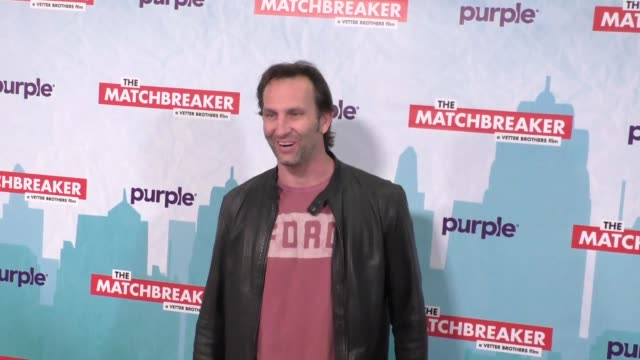 vídeos y material grabado en eventos de stock de kevin sizemore outside the matchbreaker premiere at arclight cinemas cinerama dome in hollywood in celebrity sightings in los angeles - cinerama dome hollywood