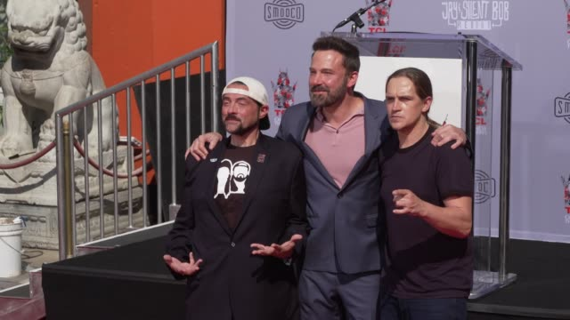 CA: Kevin Smith & Jason Mewes Hand & Footprint Ceremony