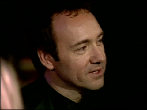 kevin spacey at the 1997 academy awards vanity fair party at the shrine auditorium in los angeles california on march 24 1997 - 69th annual academy awards stock videos and b-roll footage