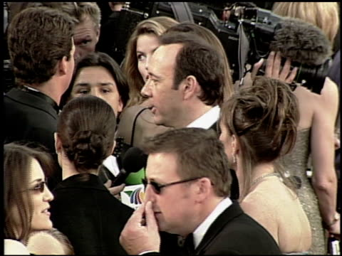 kevin spacey at the 2000 academy awards at the shrine auditorium in los angeles california on march 26 2000 - 72nd annual academy awards stock videos & royalty-free footage