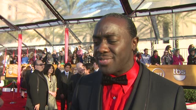 Kevin Watson on being here at the 16th Annual Screen Actors Guild Awards Arrivals at Los Angeles CA