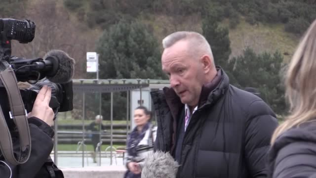 """kevin woodburn, father of murdered shaun, describes defendant's ability to call for a second postmortem without specific reasons """"barbaric"""".... - murder victim stock videos & royalty-free footage"""