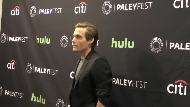 kevin zegers at the paley center for media's paleyfest 2016 fall tv preview - abc at celebrity sightings in los angeles on september 10, 2016 in los... - paley center for media los angeles stock videos & royalty-free footage