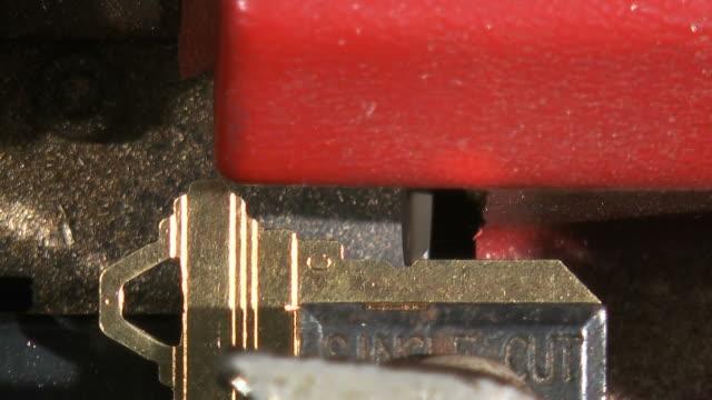 vídeos de stock, filmes e b-roll de máquina de-chave 3 - fazer