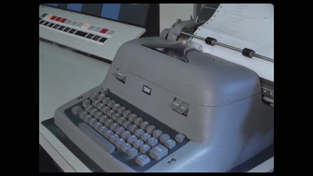 ibm keyboard output printer - printing out stock videos & royalty-free footage