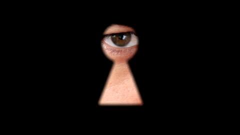 keyhole - surveillance stock videos & royalty-free footage