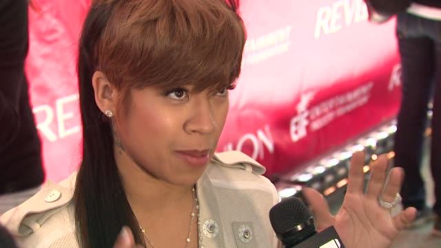 keyshia cole at the 14th annual entertainment industry foundation revlon run/walk for women at new york ny - revlon stock videos and b-roll footage
