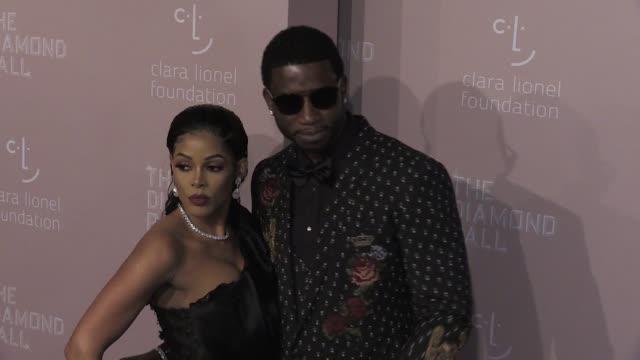 Keyshia Ka'Oir and Gucci Mane Tiffany Haddish and Gayle King on the red carpet of the 2018 Diamond Ball at Cipriani Wall Street New York City NY USA...