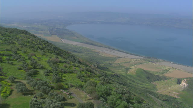 kfar haruv, an israeli settlement, kibbutz, located in the southern golan heights, israel - law stock videos & royalty-free footage