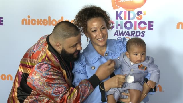 dj khaled at galen center on march 11 2017 in los angeles california - nickelodeon kids' choice awards stock videos & royalty-free footage